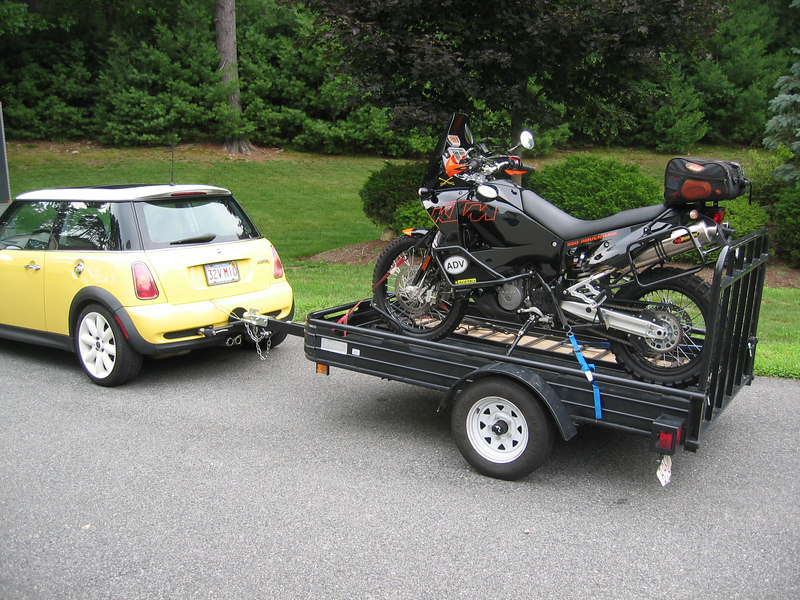 Trailer advice please adventure rider mines been coastcoast and back couple times and still going strong i bought it so my son could take his motorcycle with him to college in tempe az asfbconference2016 Choice Image